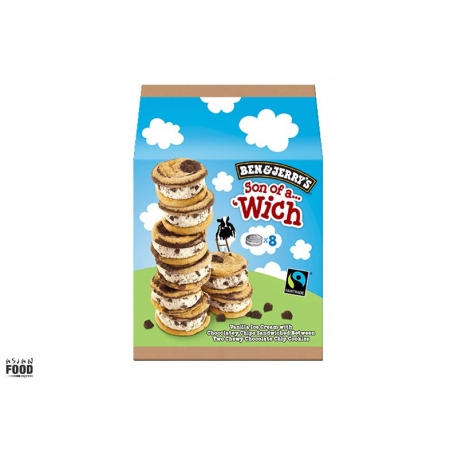 Ben & Jerry's Cookie & Dough Son of a Wich