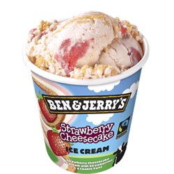 Ben & Jerry's Strawberries & Cheescake 500 ml
