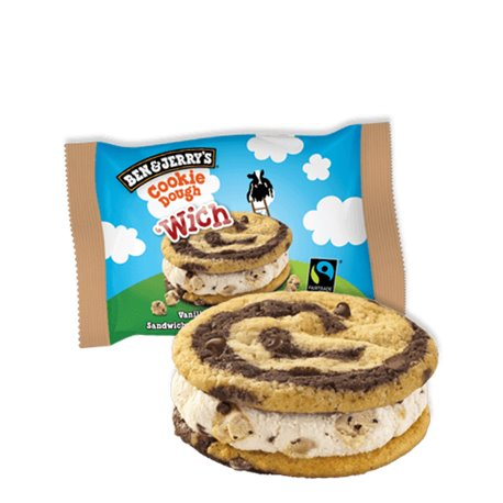Ben & Jerry's Cookie Dough 'Wich