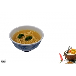 Duck, Chicken or Vegetable Noodle Soup