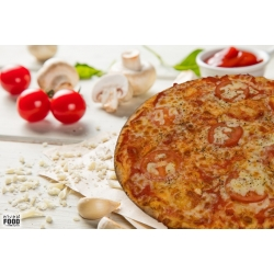 Pizza Mascarpone e Fhungi