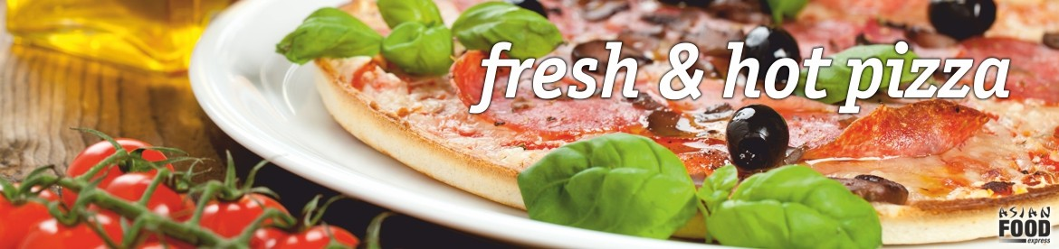 fresh & hot pizza